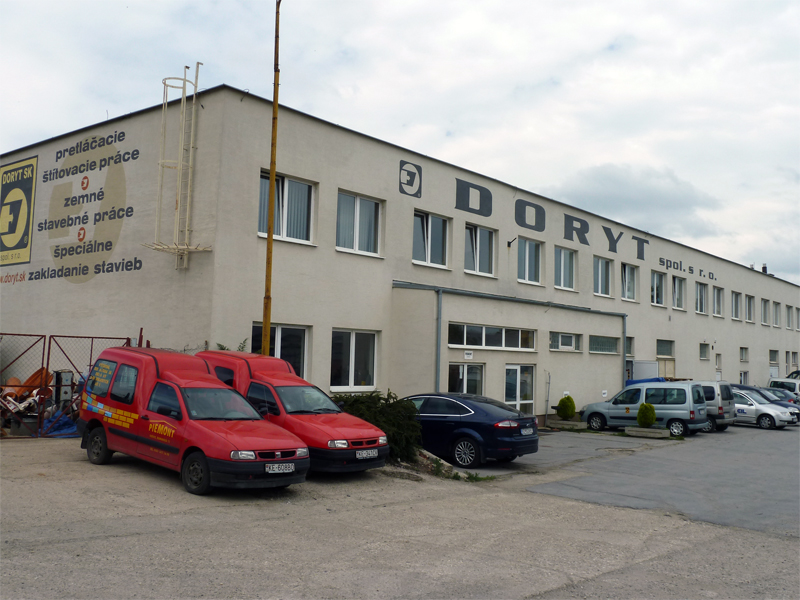 Doryt SK - foto budovy